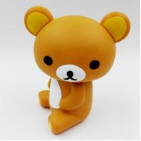 Buy cheap Custom Lovely Bear Rubber PVC Toys ,PVC Vinyl Action Figures , Eco-friendly For Home Decoration, Accept OEM from wholesalers