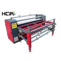 Buy cheap Table Cloth Sublimation Heat Press Machine With Continuous Speed Adjustment System from wholesalers