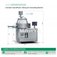 Buy cheap HLSG-10P/70P Automatic High Effective Mixing and Granulating Machine product