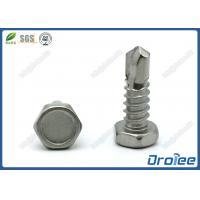Buy cheap 18-8/410/316 Stainless Steel Indented Hex Head Self Drilling Tek Screws from wholesalers