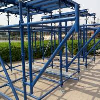 Buy cheap Building Cuplock Scaffolding System Cuplock Ledger British Standard Environmental Protection product