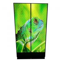 Buy cheap Long Lifespan Transparent Led Poster Square Rectangle Shape Ultra Thin Design from wholesalers
