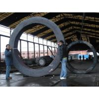 Buy cheap 20CrMnMo Alloy Steel Rolled Rings Forgings Heat Treatment 6000mm OD product