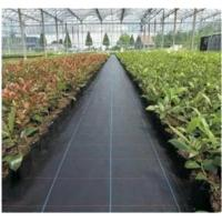 Buy cheap Black Color Ground Cover Landscape Fabric  PP Weed Control Mat from wholesalers
