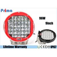 Buy cheap High Intensity 6000k LED Driving Light For 4 X 4 SUV 4WD Truck 9 Inch 96W Work Light from wholesalers