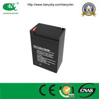 Buy cheap 6V4.5ah Rechargeable, Maintenance Free, AGM, SLA, VRLA Electric Scale Battery with CE Approved from wholesalers