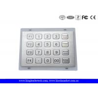 Buy cheap USB keyboard numeric keypad 5x4 Matrix , IP65 outdoor keypad WaterProof from wholesalers