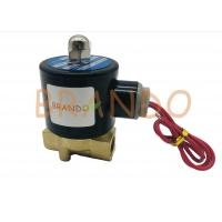 Buy cheap Threaded Ports 2 Way 2 Position Solenoid Valve 2W-040-10 3/8 Inch Direct Acting from wholesalers