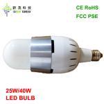 Buy cheap FAN COOL LED BULB FCC PSE CE ROHS 25W 40W E26 E40 BASE REPLACE 100-200W LED BULB from wholesalers
