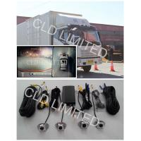 Buy cheap Seamless Bird View Lorry Cameras with 4 channel HD DVR And collision video, Advanced Driving Assistant System product