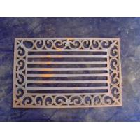 Buy cheap Rectangle Cast Iron Outdoor DoormatsFor Unique Christmas Non - Slip from wholesalers