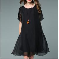 Buy cheap 2017 summer women clothing chiffon women plus size dresses from wholesalers