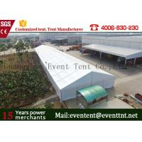 Buy cheap One Stop Outdoor Warehouse Tent aluminum tent With PVC Coated Polyester Fabric from wholesalers