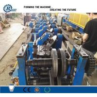 Buy cheap C U Z Channel Purlin Roll Forming Machine , Angle Steel Truss Furring Machine from wholesalers