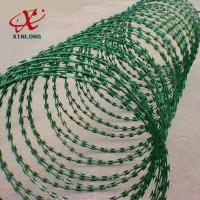 Buy cheap Galvanized CBT-65 BTO-22 Razor Barbed Wire High Security Barbed Wire from wholesalers