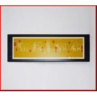 Buy cheap Glass Picture Frame Glass Painting Frame black frame rectangle frame from wholesalers