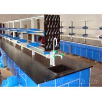 Buy cheap Steel And Wood School Laboratory Furniture With Faucet Sink And Lab Stools from wholesalers