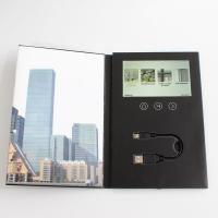 Buy cheap 7 Inches LCD Video Brochure Card 1 /2 /4 / 8GB Memory For Advertising / Promotions product