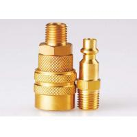 Buy cheap Nickle Plated Quick Disconnect Coupling LAM American Type ISO 6150B Standard from wholesalers