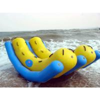 China Inflatable Water Park Game / Double Tubes Water Totter Toy on sale