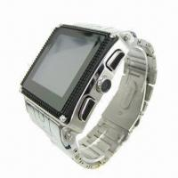 Buy cheap IP67 Water-resistant Watch Phone with MTK 6253 CPU and 128 x 128 Pixels Resolution from wholesalers