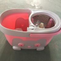 Buy cheap detachable basket and base spin mop big metal mop bucket from wholesalers