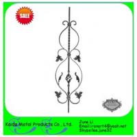 Buy cheap cast iron baluster, stair balusters, balustrade, fence/door/gate from wholesalers