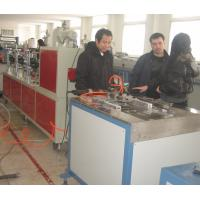 Buy cheap PVC Plastic Skirting Plastic Extrusion Equipment , PVC Ceiling Production Line from wholesalers