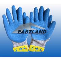 Buy cheap Labor Safety Cotton Latex Coated Gloves from wholesalers