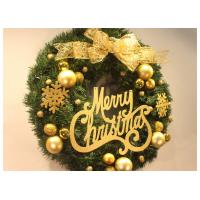 Buy cheap Merry Christmas Festival Decoration Items Outdoor Christmas Garland With Lights from Wholesalers