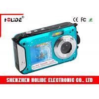 Buy cheap Dual Screen High Definition Video Cameras Underwater 24.0MP 1080p Lithium Battery 550mah from wholesalers