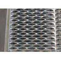 Buy cheap Black Galvanized Steel Stair Treads Serrated Grating Bar Anti Slipping from wholesalers