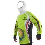 Buy cheap Hooded Uv Fishing Shirts / Fishing Team Jerseys Flat Bottom Waterproof from wholesalers