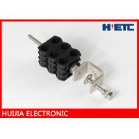 Buy cheap 1/2 Inch Feeder Cable Electrical Wire Holding Clips , Through Core Cable Grounding Clamps from wholesalers