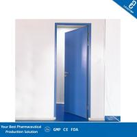 Buy cheap Double Sealing Purified Operating Room Doors GMP Standard Sandwich Panel Door from wholesalers