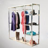 Buy cheap Multi Function Garment Display Shelfs With Metal Display Stands Chrome plating from wholesalers