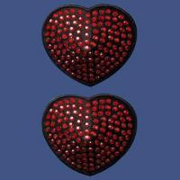 Buy cheap Reusable Diamond Nipple Cover with 6cm Diameter, Lightweight and Self-adhesive from wholesalers