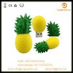 custom pvc fruit shaped usb disk vegetables series usb memory flash disk 32MB  64GB