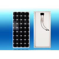 Buy cheap Electric Fence Accessories 12V 100W High Efficiency Mono Silicon Solar Panel from wholesalers