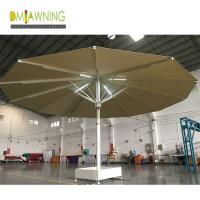 Buy cheap Strongwind Giant Umbrellas  Extra Large Patio Umbrellas Large Outdoor Umbrellas with LED Lights 7m large umbrella from wholesalers