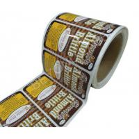 Buy cheap Private Folded Adhesive Personalized Labels Professional For Fitness from wholesalers