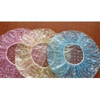 Buy cheap PE Clear Disposable Shower Caps , Disposable Plastic Hair Caps For Hotel / Cooking from wholesalers