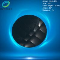Buy cheap Best price round shape black colour HDPE material pir fresnel lens for infrared motion detector Model 2220-251 from wholesalers