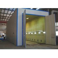 Buy cheap Two Spray Gun Sandblasting Booth , Truck Body Sandblasting Chamber Electric Control from wholesalers