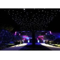 Buy cheap Romantic Party Curtain Lights 4m X 10m , Led Curtain Fairy Lights Flame Retardant from wholesalers