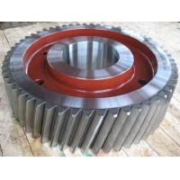 Buy cheap Gear Forgign For Mining Machinery, Material 4340, Hardness 55-63HRC from wholesalers