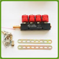 Buy cheap CNG LPG Injector Rail 3Ohms for 4cylinder Sequential injection System Common from wholesalers