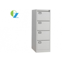 Buy cheap 0.5mm 4 Drawer Filing Cabinet With Name Holder Goose Neck Handle from wholesalers