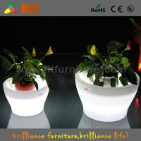 Buy cheap Big Remote Control Battery LED Plant Pots 16 Colors Change For Party from wholesalers