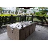 Buy cheap New design Outdoor garden Furniture PE Rattan wicker chair hotel chair and table from wholesalers